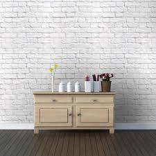 How To Style Home With White Brick WallsWhite Brick Wall Living Room
