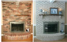 fireplace update ideas amazing ideas fireplace remodel modern how to update a brick on budget furniture
