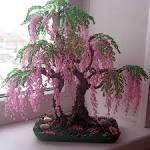 Деревья из бисера своими руками мастер классы