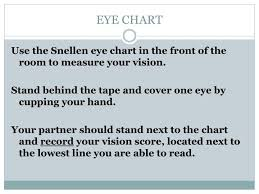 Ppt Eye Chart Powerpoint Presentation Free Download Id