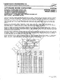 Manitowoc 4100w Series 1 Ringer 3 Specifications Cranemarket