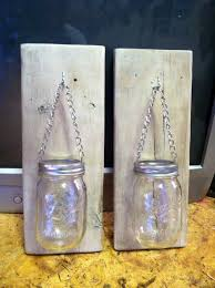 How To Decorate Candle Jars How To Make A Mason Jar And Pallet Wood Candle Holder Hometalk 54