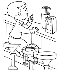 Like us now if you love to color and draw. Restaurant Coloring Pages Coloring Rocks