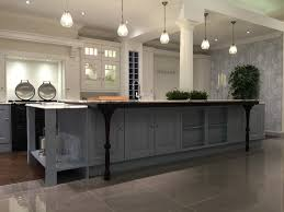 Ashley Kitchen Furniture Laura Ashley Bedale In Skylon Grey And Chalk White And Oak