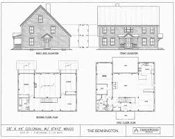 colonial house plans. Post \u0026 Beam House Plans And Timber Frame Drawing Packages By Timberworks Design Colonial W