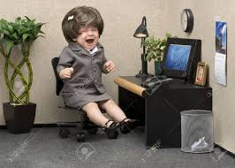 image professional office. Baby Dressed In Professional Office Attire Crying At Her Desk Stock Photo - 9539263 Image E
