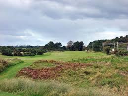 11th the railway hole at royal troon golf club old 483 yard par 4