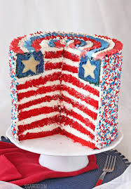 american flag layer cake sugarhero