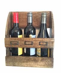 rustic farmhouse wine bottle holder wall cabinet