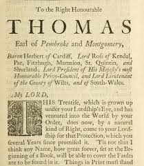 thomas herbert th earl of pembroke john locke founding father of democracy dedicated an essay concerning human understanding to the 8th earl of pembroke in 1690