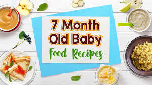 7 Months Old Baby Food Chart Along With Recipes
