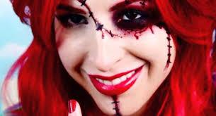 creepy doll makeup tutorials