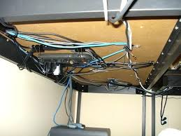 home office cable management. Cool Computer Cable Management On The Cheap 5 Steps Ideas Home Office Home Office Cable Management