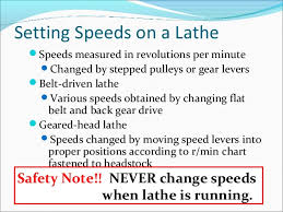 Cutting Speed For Turning
