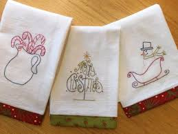 kitchen towel embroidery designs. embroidery designs for tea towels   christmas towel pattern kitchen i