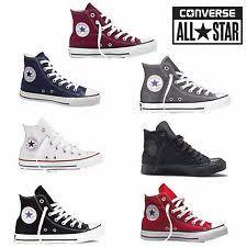 converse all star. converse all star hi tops mens womens unisex high chuck taylor trainers