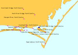 Harkers Island Bridge North Carolina Tide Chart