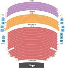 Mccallum Theatre Seating Chart Palm Desert