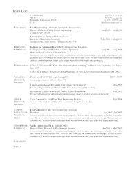 Latex Resume Templates Two Column Resume Templates Latex Resume