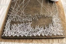 String Art Diy Personalized String Art Tree