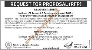 Party Proposal Cool Request For Proposal National ICT R D Fund PaperPk