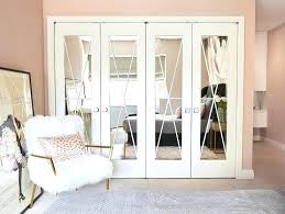 mirrored closet doors with x trim folding mirror bifold door pulls