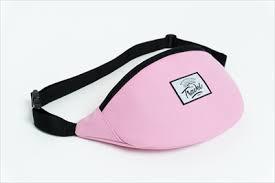 Travel поясная сумка logo cream pink - Бордшоп#1