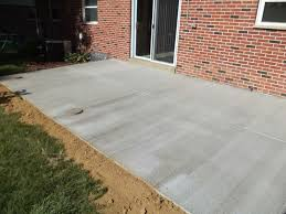 modern concrete patio. Backyard Concrete Patio Luxury With Photos Of Property New At Modern R