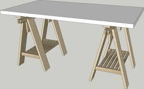 ikea linnmon finnvard desk 150x75 3d
