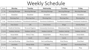 My Weekly Schedule My Weekly Schedule Rome Fontanacountryinn Com