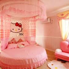 kids bedroom for girls hello kitty. Awful Hello Kittyedroom Decoration For Young Girls Ideas Cheapunkeds Online Toddler Car Loft White Twin Kitty Kids Bedroom A