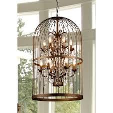 rinee cage chandelier antique pendant lighting