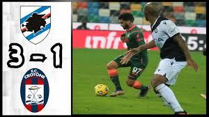 UC Sampdoria 3 - 1 FC Crotone | Highlights
