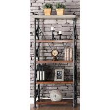 inch contemporary bookcase steampunk bookcases and shelves
