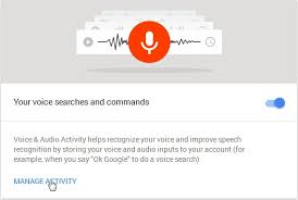 Google Search Commands How To Listen To And Delete Everything Youve Ever Said To Google