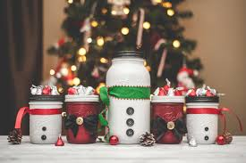 Mason Jars Decorated For Christmas Mason Jars for Christmas Robots Monsters and Snowmen KA Styles 45