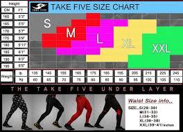 Korea Mall Take Five Mens Compression Skin Tight Sports Pants 120 Military 2xl
