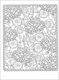 seas patterns coloring book additional photo inside page