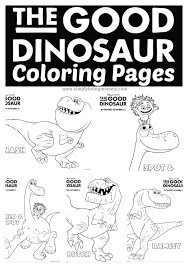 Small Picture The Good Dinosaur Coloring Pages Have Fun With Your Children With