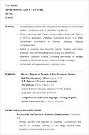 Resume Template College Graduate Example Of College Student Resumes