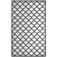 black geometric rug and white uk dynamic ivory