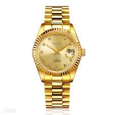 cheap full golden watch for men world famous watches brands in cheap full golden watch for men