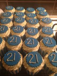 10 21st Cupcakes For Boys Photo Boy Birthday Cupcakes 21st