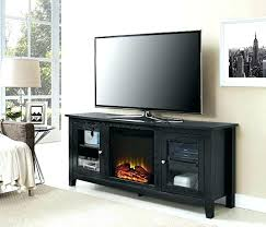 corner electric fireplace entertainment center unit white oak ce