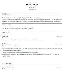 Professional Resume Builder Free Sarahepps Com