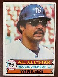 1979 Topps Reggie Jackson New York ...
