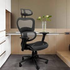 Ergonomic Mesh Office Chair with Back Support | Chairs for Home