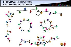Christmas Light Vector Graphic By Arcs Multidesigns Creative Fabrica