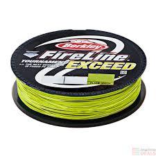 Fireline Diameter Chart Berkley Fireline Exceed Braid Flame Green