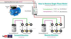 running winding in single phase motor